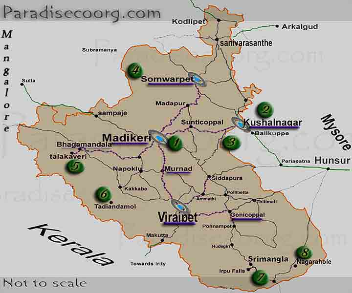 Coorg Tourism ,Travellers Needs :Coorg weather ,Coorg bus